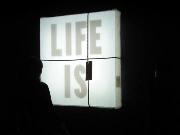 KWOK WAI LAU, Life is fragile. Handle with care, 2002