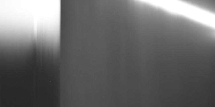 Hiroshi Sugimoto. Revolution Hiroshi Sugimoto, Revolution 008, 1990, Caribbean Sea, Yucatan, Gelatin silver print, 94 x 47 inches © 2012 Hiroshi Sugimoto