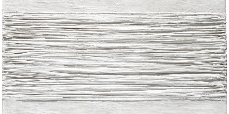 Piero Manzoni (Soncino, Cremona 1933 - Milano 1963) Achrome, 1958 kaolin and wrinkled canvas, 70 x 100 cm Intesa Sanpaolo Collection Gallerie d'Italia - Piazza Scala, Milan