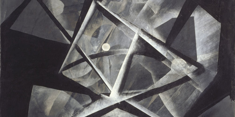 Licht-Bilder: Fritz Winter and Abstract Photography Fritz Winter, Weiß in Schwarz, 1934, Oil on Paper on Canvas, 100,5 x 75,5 cm Museumslandschaft Hessen Kassel, Neue Galerie © VG Bild-Kunst, Bonn 2012