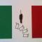 Felice Levini Italia x incognita…., 1991-2012 tecnica mista su carta cm 35 x 50