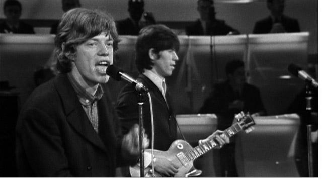 The T.A.M.I. Show. 1964. USA. Directed by Steve Binder. Pictured: Mick Jagger, Keith Richards.