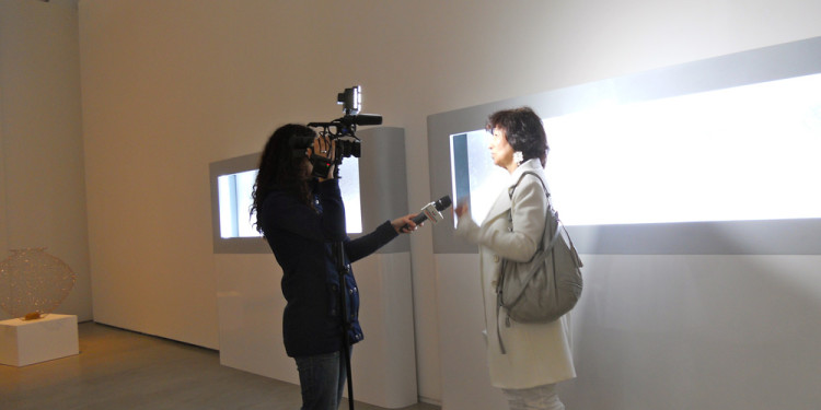 VITTORIA BIASI, art historian and critic focuses on the monochrome white of the twentieth century