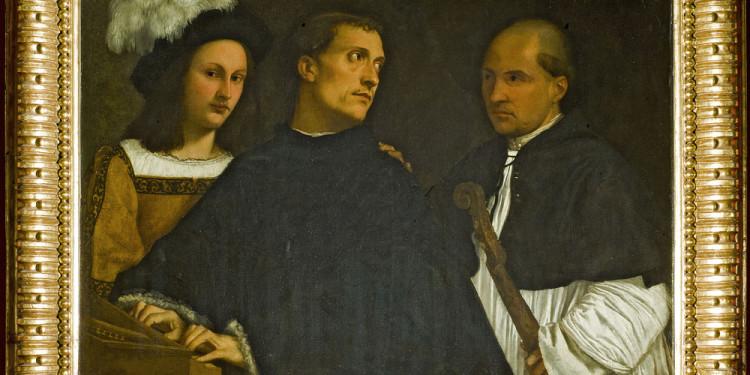 Tiziano Vecellio Il concerto, 1510 – 1511 circa Olio su tela Firenze, Galleria Palatina di Palazzo Pitti