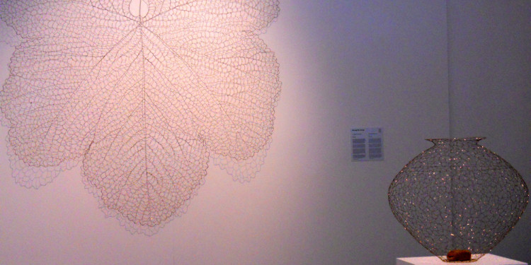 KWANG-HO JEONG, The Leaf 711210, 2007, Copper wire, 210 x 210 cm