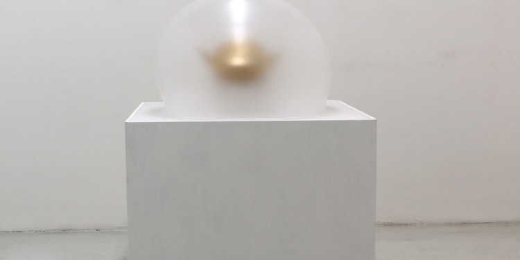PAOLO RADI, Sacello of the suspension, 2012, cm 140x80x80, perspex and wood