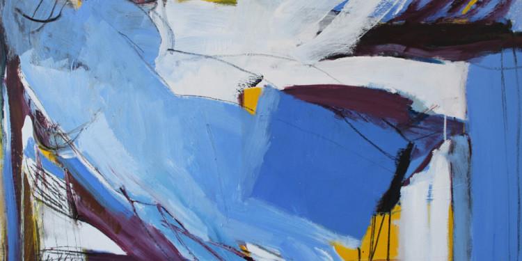 Persefone 1, 2011-2012 olio su tela cm 100x150, Liliana Malta