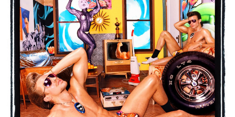David LaChapelle: Celebrity Gleam, 2002. Courtesy of Galerie Thomas, Munich