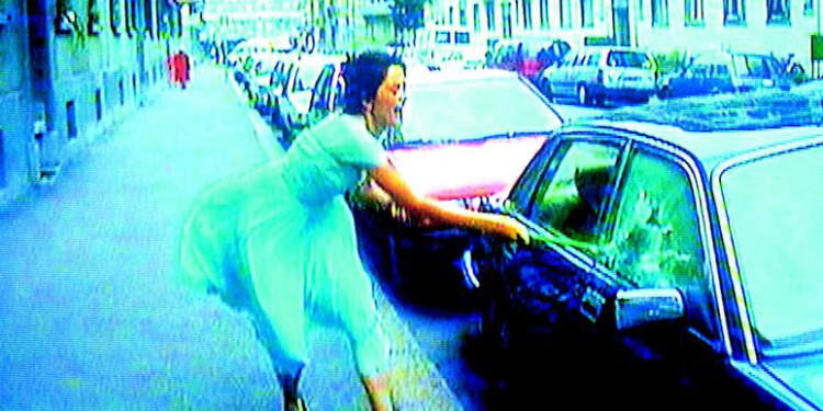 Pipilotti Rist Ever Is Over All, 1997 Audio video installation (video still) © Pipilotti Rist Courtesy: the artist, Hauser & Wirth and Luhring Augustine, New York