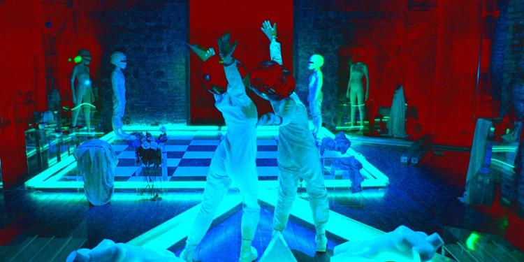 Il Giardino dei Veleni di Vincenzo Ceccato - Performance multimediale al Teatro Sala uno - Roma