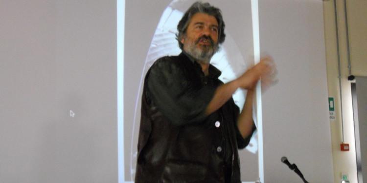 Carlo Infante alla presentazione - Ente Regionale Appia Antica - 18.5.2013