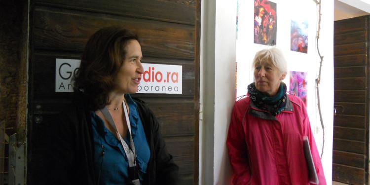Dr.ssa Francesca Mazza e Jill Rock al Casale Ex Mulino - 25.5.2013