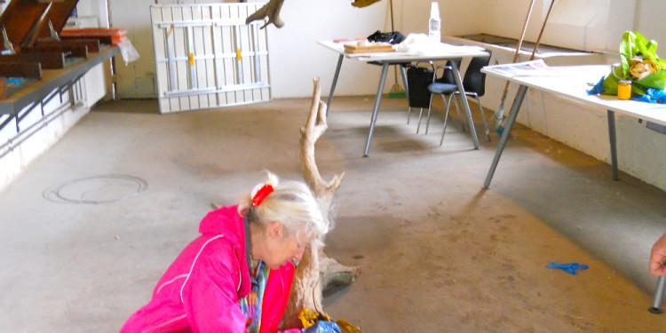 Jill Rock at work al Casale Ex Mulino - giovedì 23 maggio 2013