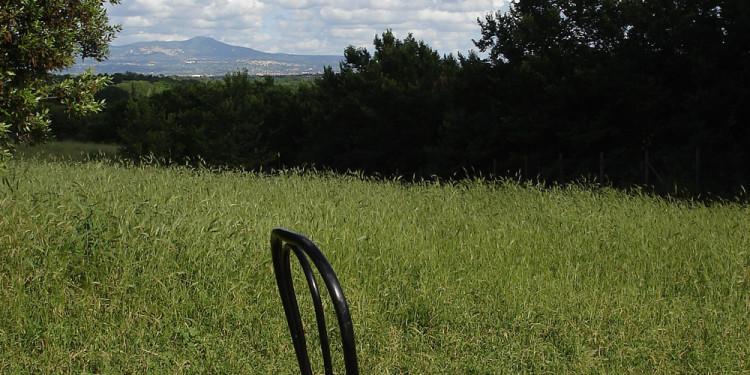 Monte Cavo con sedia