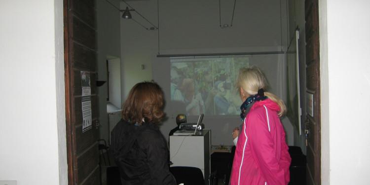proiezioni video al Casale ex Mulino