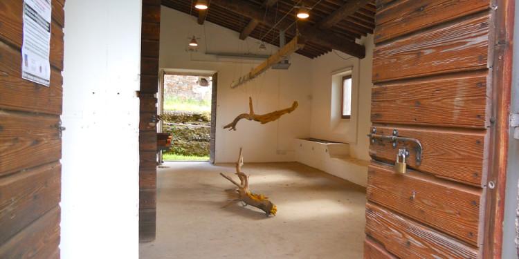 sculture di Jill Rock al Casale ex Mulino, 1st June 2013