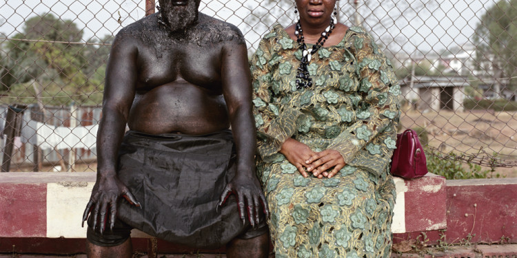 Chris Nkulo and Patience Umeh. Enugu, Nigeria, 2008 © Pieter Hugo. Courtesy of Stevenson, Cape Town/Johannesburg and Yossi Milo, New York.