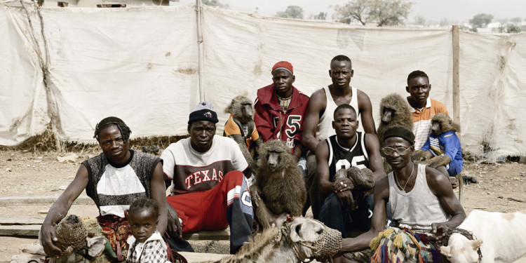The Hyena Men of Abuja, Nigeria 2005 © Pieter Hugo. Courtesy of Stevenson, Cape Town/Johannesburg and Yossi Milo, New York.