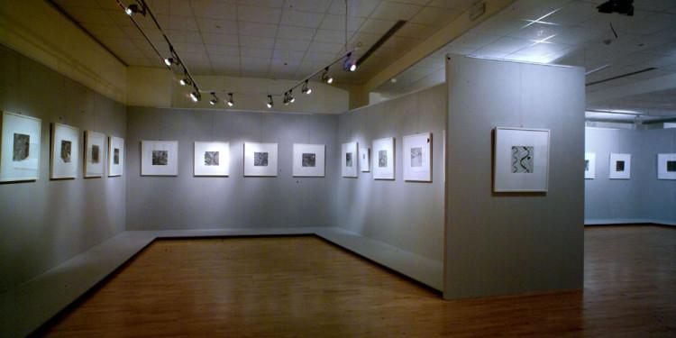 111 Allestimento della mostra Donato Di Zio. Dentro al Pelago, a cura di Gillo Dorfles, al Museo d'Arte Moderna Vittoria Colonna di Pescara, 2006