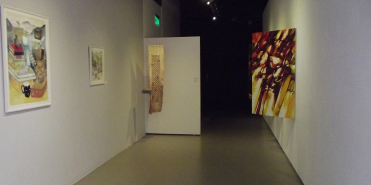 Exhibition View_Eun Jung Seo Feleppa(Left), Sook Hee Kwon(Middle), Ha Neul Shin (Right)