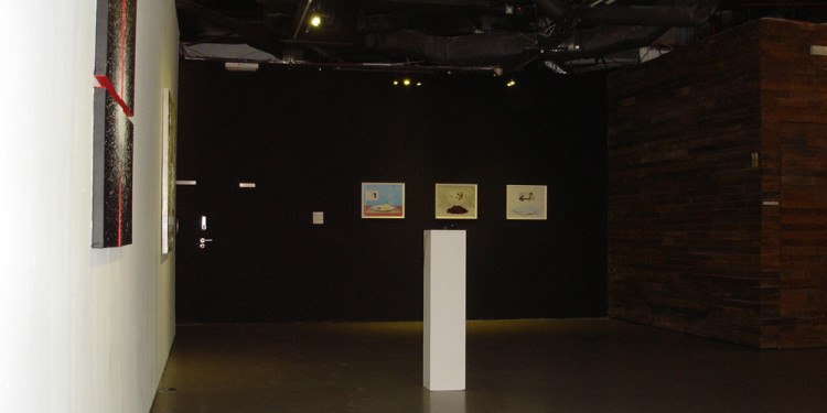Exhibition View_Moon Jeong Min (Left), Joo Hee Chun + Jee Soo Shin (Far left, Middle), Miso Park (Far middle)