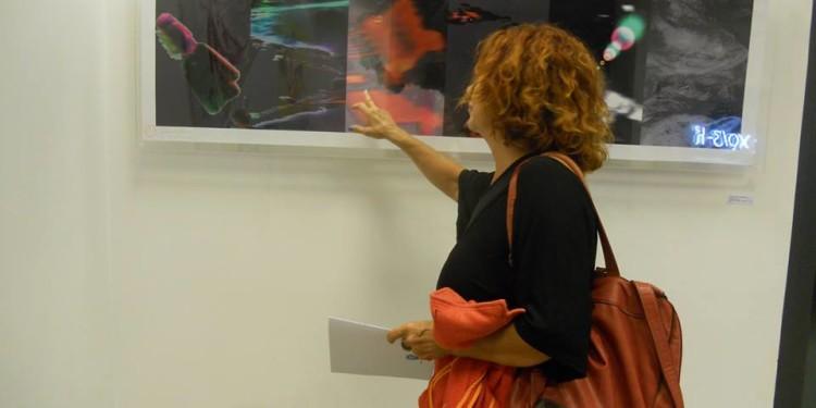 Eleonora Del Brocco - Materia Oscura - Elaborazione fotografica (in digitale) cm 63 x 167 — presso LA TRASPARENZA DEL REALE - RO.MI. e STUDIO.RA / AMACI Giornata del Contemporaneo.