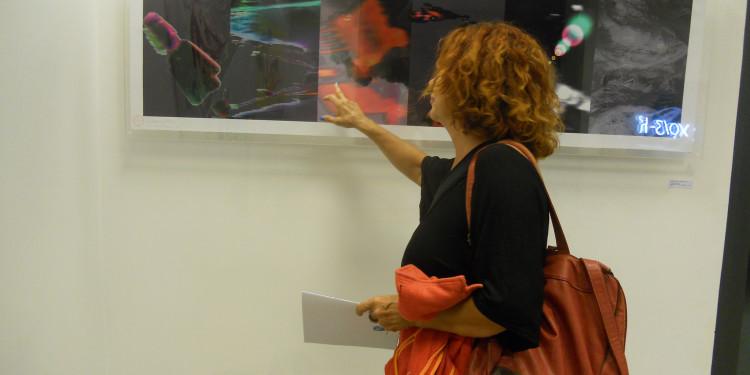 Eleonora Del Brocco - Materia Oscura - Elaborazione fotografica (in digitale) cm 63x167