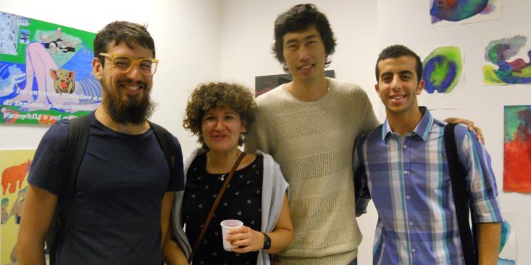 Valentina Colella, Qinggang Xiang ed amici della Sapienza