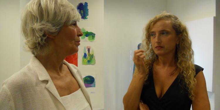 Vittoria Biasi e Luisa Mazza - opening